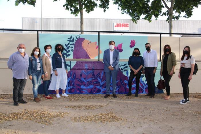 Nou Mural del Dia de la Fibromiàlgia a l'Alcúdia