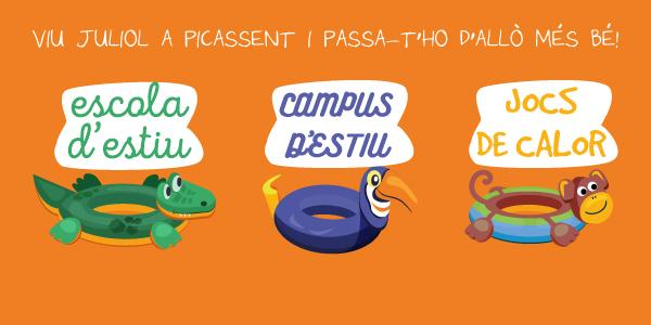 L'Ajuntament de Picassent presenta l'oferta de les escoles d'estiu municipals per al mes de juliol