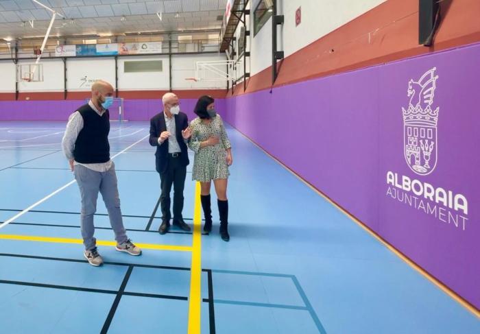 Alboraia millora la seguretat de la Ciutat de l'Esport amb proteccions embuatades
