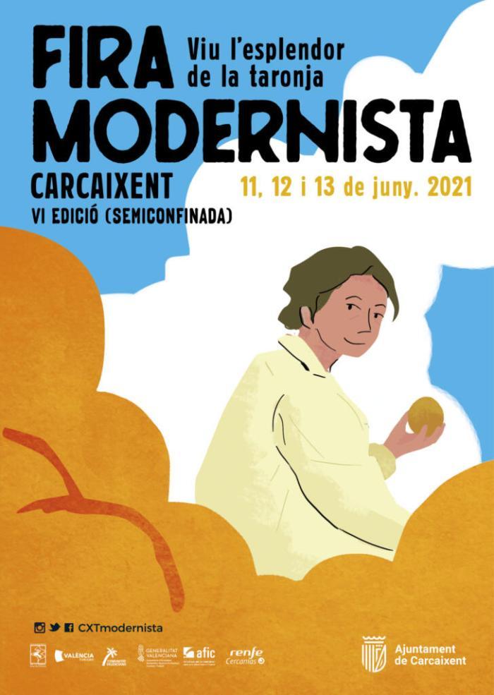 Torna la Fira Modernista de Carcaixent amb una edició adaptada a la situació sanitària