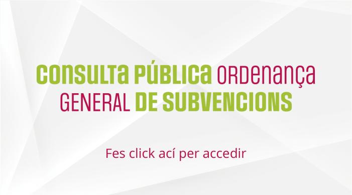 Carlet obri un procés de participació ciutadana amb vista a la futura ordenança general de subvencions