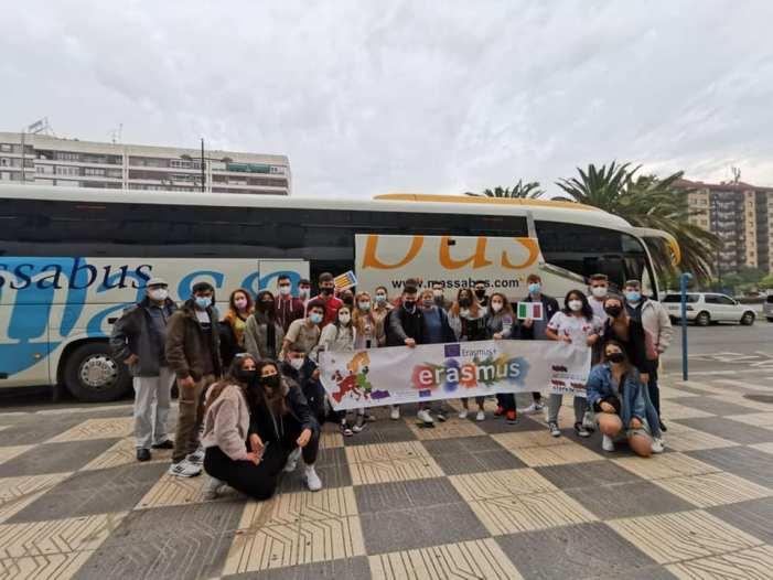 Set alumnes de l'IES Almussafes participen en l'Erasmus+