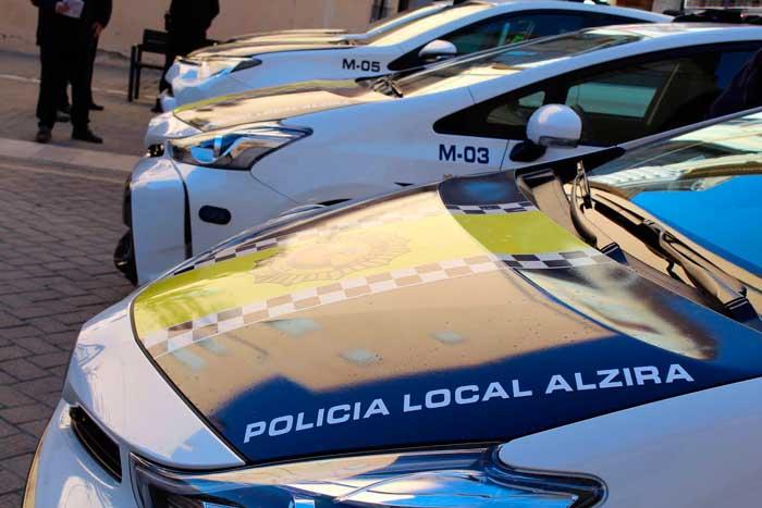La Policia Local d'Alzira immobilitza 5 ciclomotors este cap de setmana