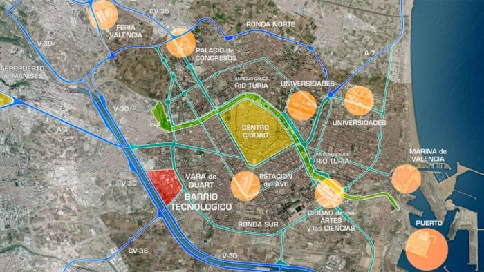 L'Ajuntament de València presenta el projecte del futur districte innovador de Vara de Quart a l'associació veïnal de Tres Forques