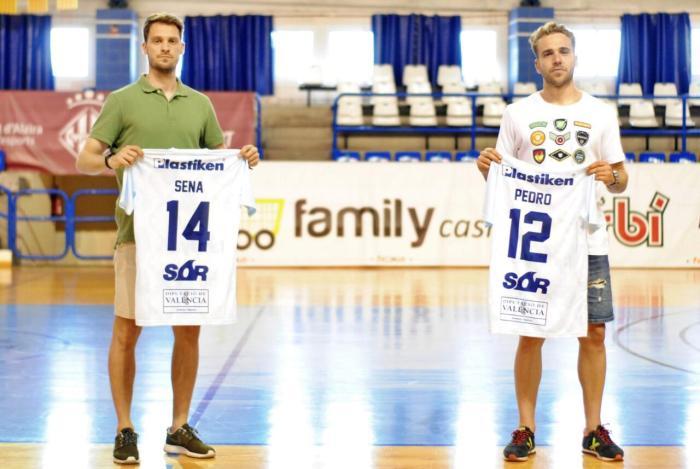 Javi Sena i Pedro García, fitxatges de 'Primera' per al Family Cash Alzira FS