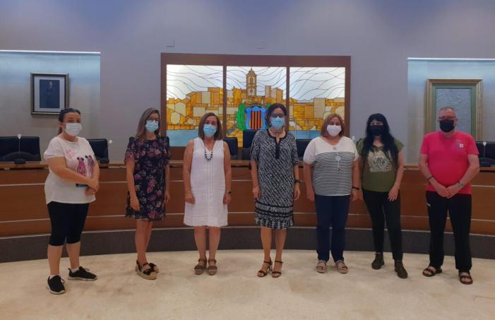 L'Ajuntament de Carlet incorpora cinc treballadors gràcies a l'Emcorp