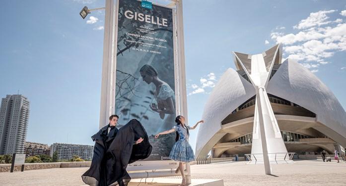 Les Arts clausura el seu cicle de dansa amb 'Giselle' de la Companyia Nacional de Dansa