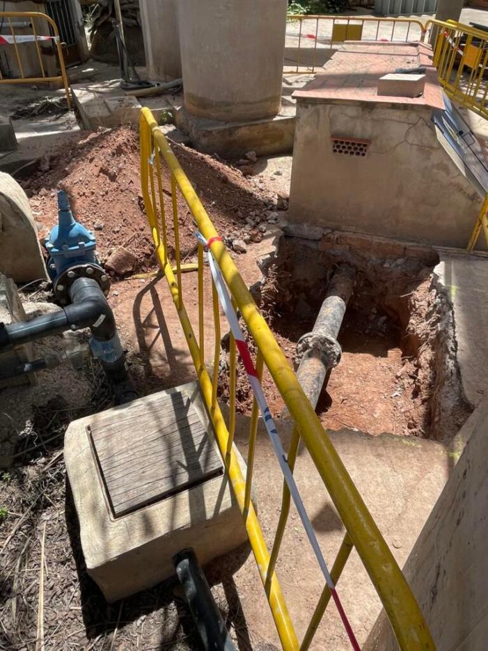 Alfara del Patriarca millora la xarxa d'aigua potable