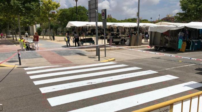 L'Ajuntament d'Alaquàs ha realitzat recentment treballs de manteniment en la pintura vial de diferents carrers del municipi