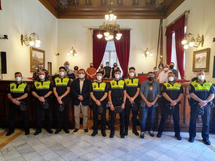 Sueca incorpora 5 agents interins de Policia Local