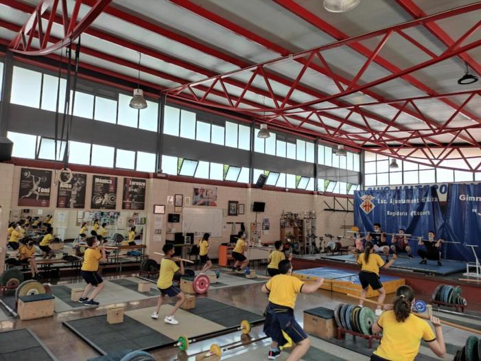 En marxa Activa't amb la natació recreativa, l'halterofília i el handbol, dirigides als alumnes de sisè de primària d'Alzira