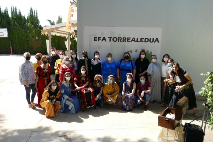 EFA Torrealedua realitza un escape room