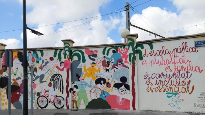 Russafa llueix quatre nous murals per visibilitzar els Objectius de Desenvolupament Sostenible