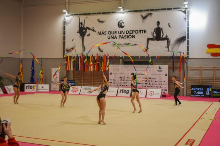 Alfafar torna a ser seu de la gimnàstica rítmica nacional