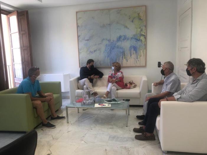 Picassent es reuneix amb Diputació amb motiu del recent ascens del Club Futbol Sala