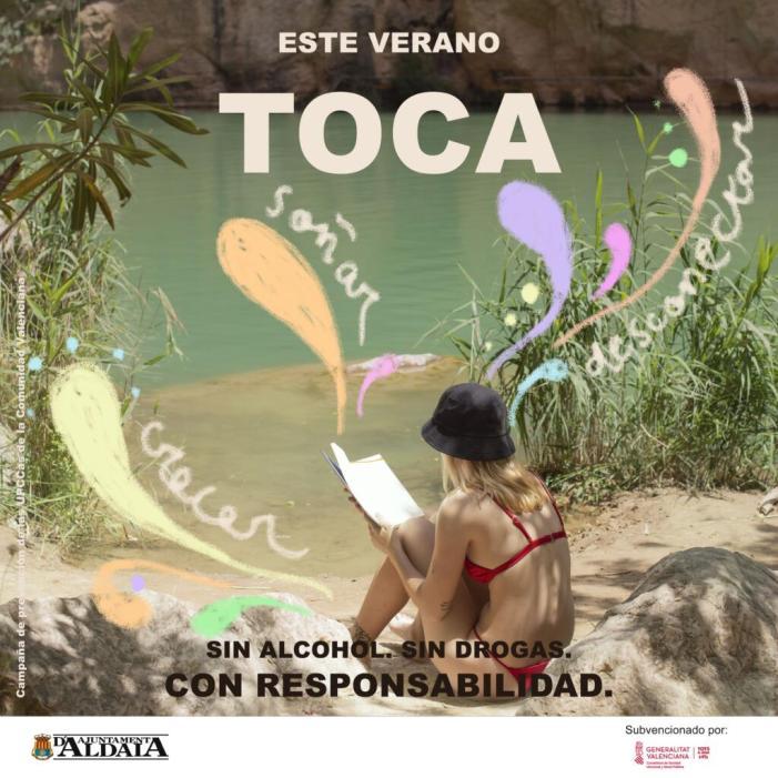 """Aldaia se suma a la nova campanya de prevenció de la UPCCA """"Aquest estiu toca"""""""