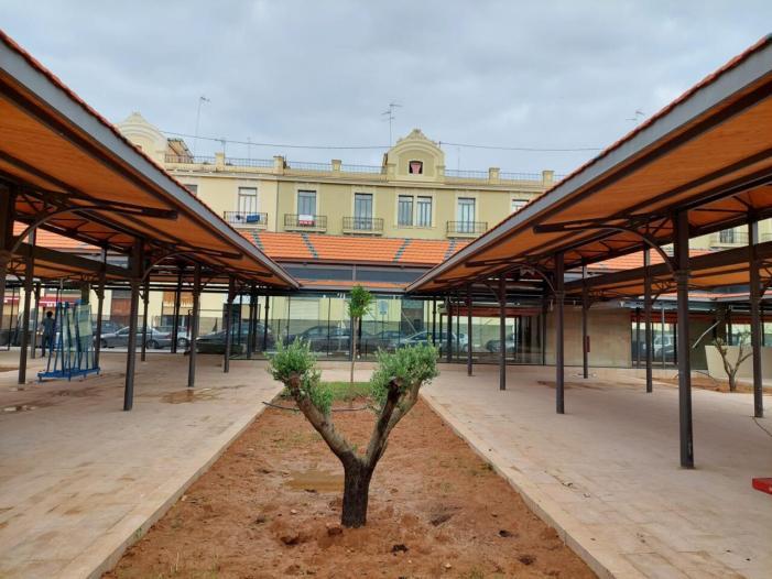 Les obres del nou Mercat del Grau de València estan ja a punt de finalitzar