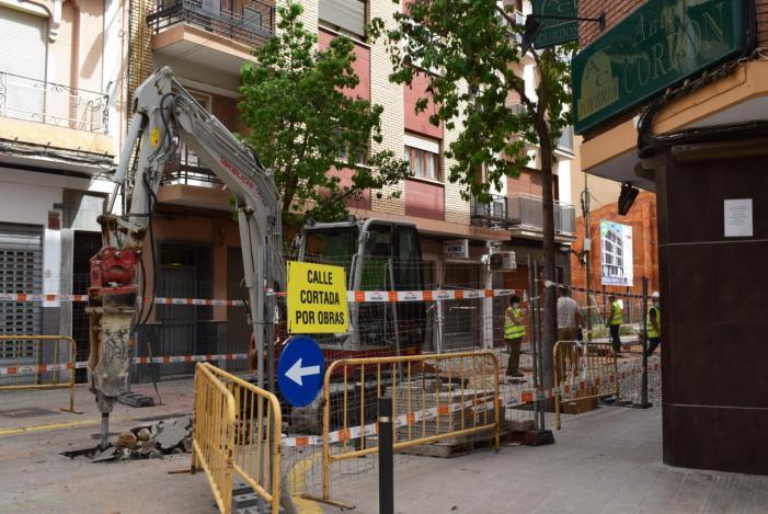 Torrent inicia les obres del clavegueram dels carrers Mestre Victoriano Andrés i Germanies