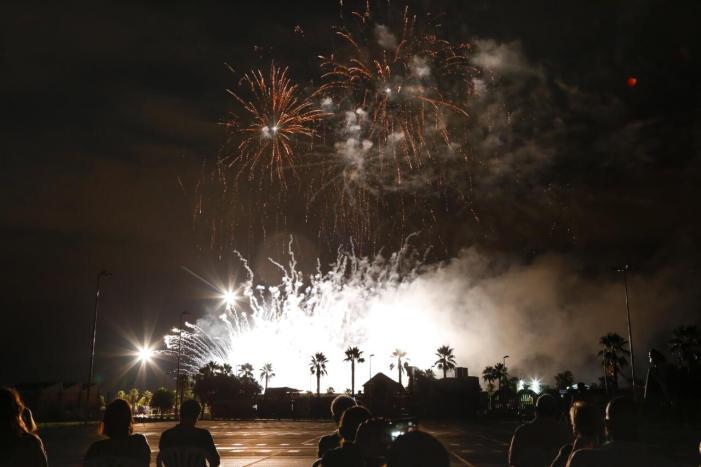 Mislata va concloure les seues festes amb un gran castell de focs artificials