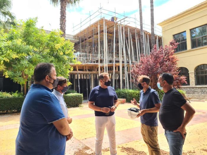 Les obres del nou col·legi Carrasquer a Sueca avancen segons les previsions