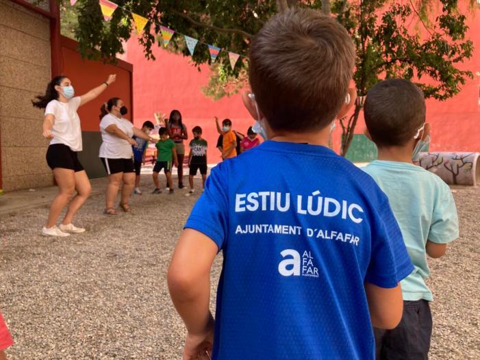 Alfafar finalitza l'Estiu Lúdic després de quatre setmanes de tallers i oci educatiu