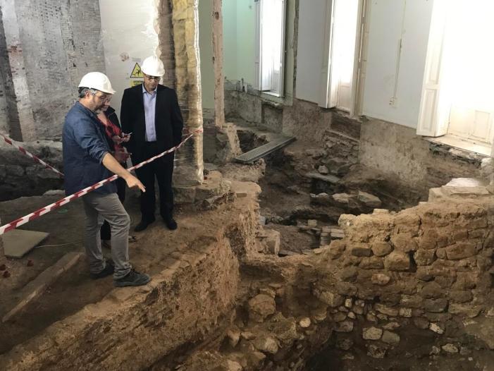 Hisenda incorpora servei d'arqueologia en les obres d'edificis públics per a recuperar patrimoni històric per a la ciutadania