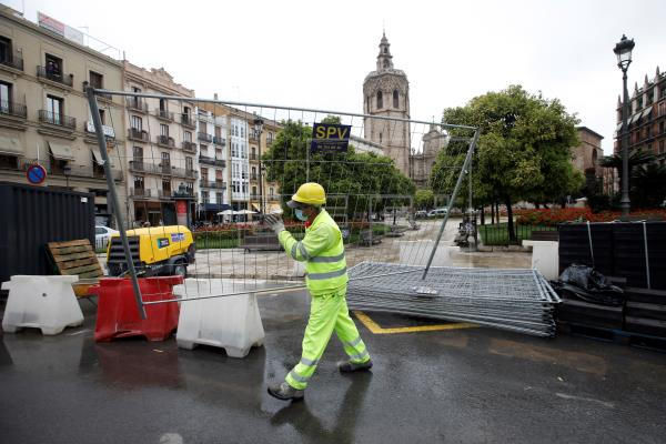 L'Ajuntament de València modificarà el projecte de la Plaça de la Reina garantint la continuïtat de l'obra
