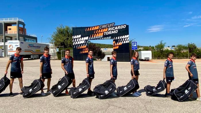 Els pilots del Centre de Tecnificació del Circuit Ricardo Tormo comencen el curs