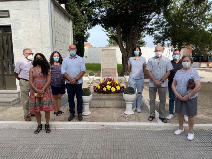 Massamagrell rendeix, un any més, homenatge a les víctimes de la Guerra Civil i la dictadura