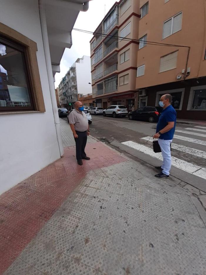 El Perelló inverteix 129.000 euros en la remodelació de les voreres de Ramón Llull i Arquitecte Lavernia