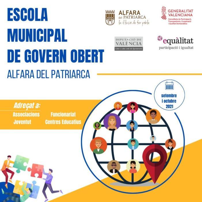 L'ajuntament d'Alfara del Patriarca presenta la seua I Escola Municipal de Govern Obert