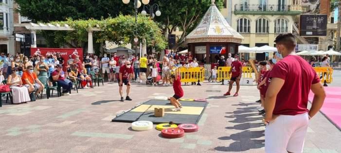 Excel·lent participació en la I Fira de l'Esport celebrada a Alzira
