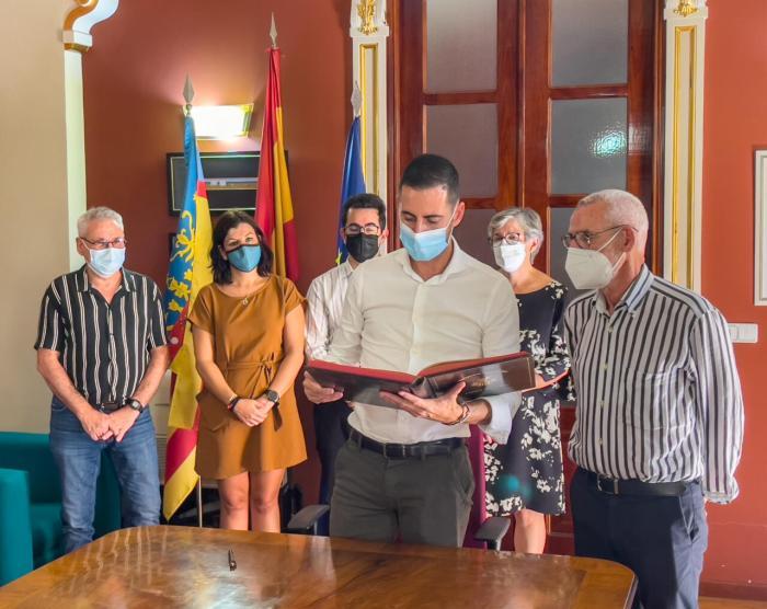 Carlos Fernández Bielsa, vicepresident de la Diputació de València, visita el municipi d'Alboraia
