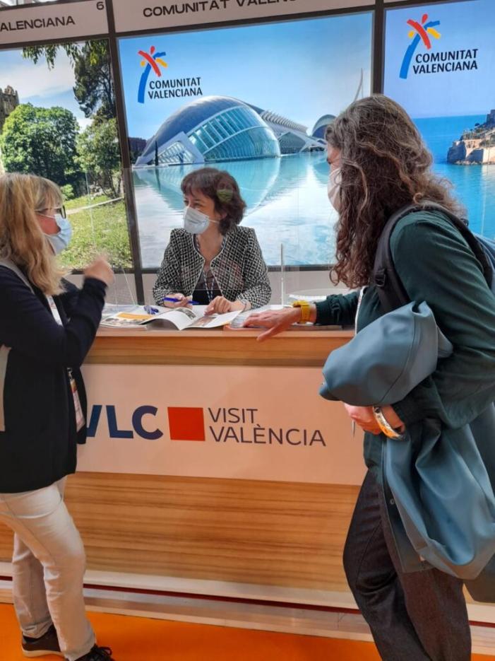 """València torna a la promoció presencial """"en la principal fira de turisme de París"""""""