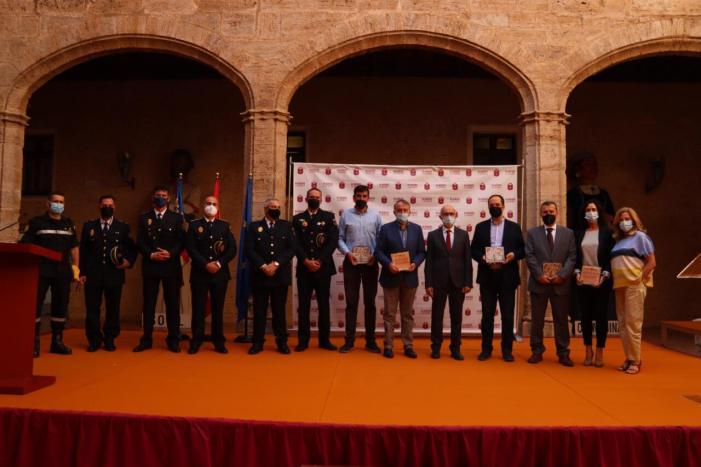 Alaquàs va commemorar el passat divendres 15 d'octubre el Dia de la Policia Local