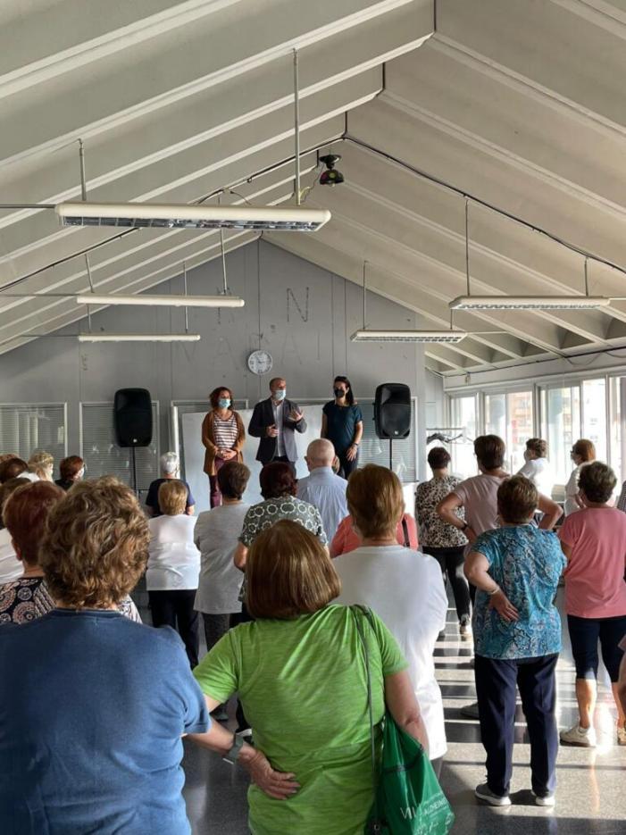 L'Ajuntament de Massamagrell represa la gimnàstica per a majors