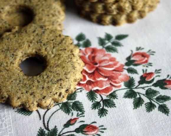 Biscotti di grano saraceno alla liquirizia