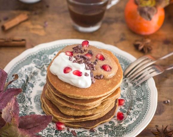 Pancakes ai cachi