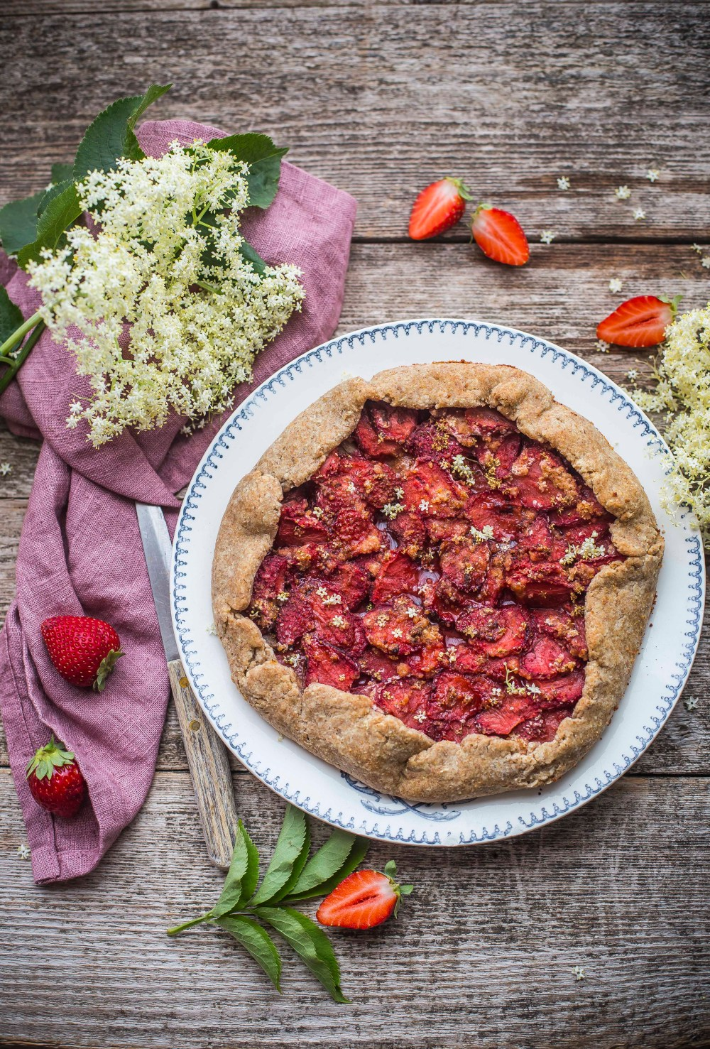 Galette alle fragole