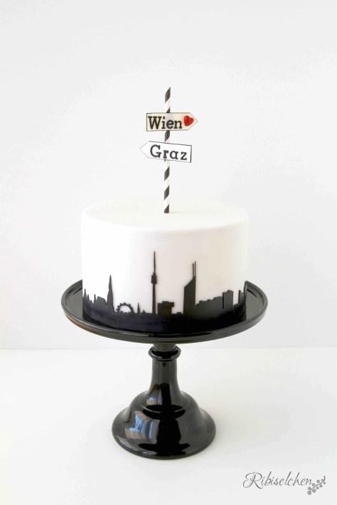 Skyline-Torte