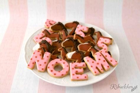 Pferde-Cookies