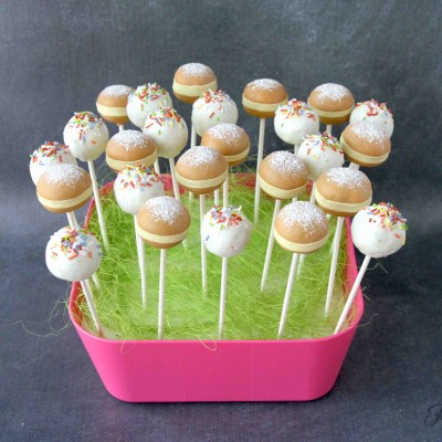 Faschings-Cake Pops