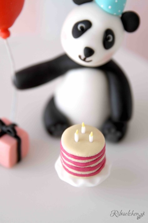 Miniatur Torte aus Fondant