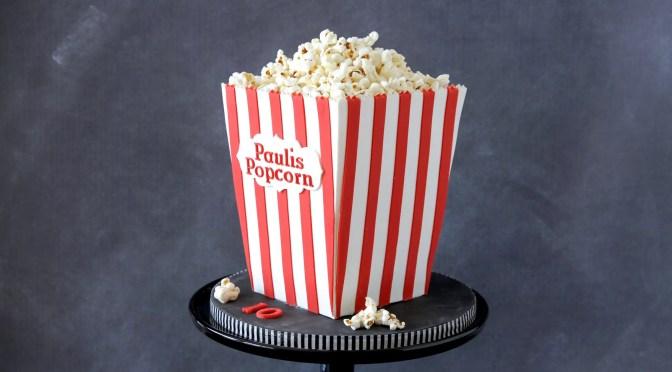 Popcorn Torte