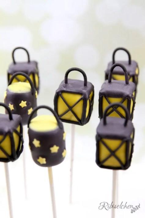 Laternen Cake Pops