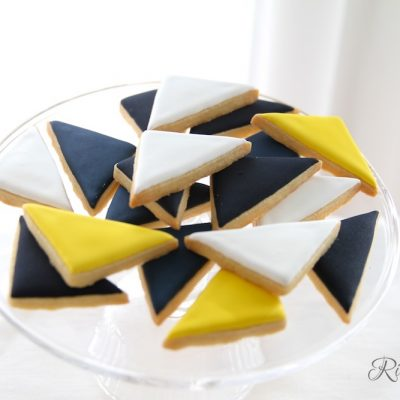 Dreiecke Kekse