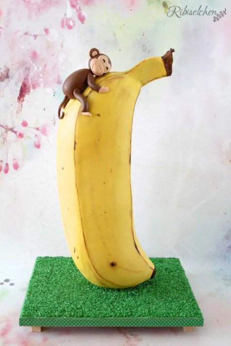 Bananentorte 3D