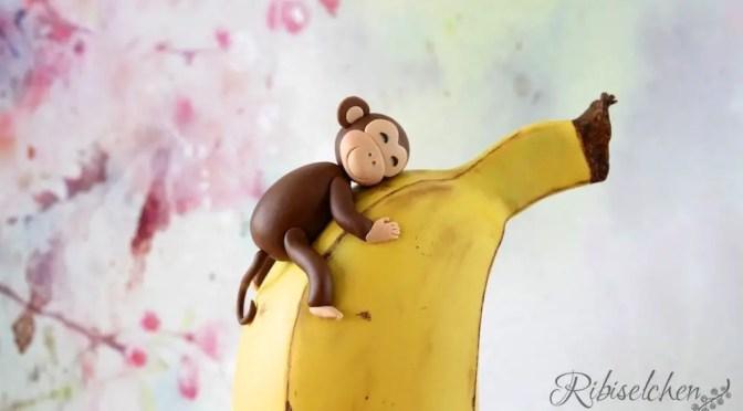 Eine Affentorte (oder doch eine Bananentorte?)