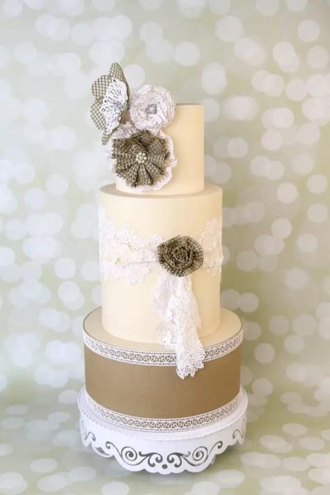 Shabby Chic Torte Cake