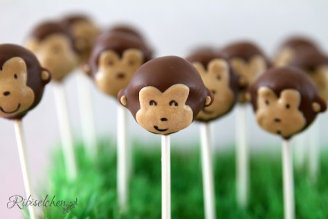 Affenparty Cake Pops